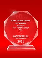 Capital Finance International  - The Best Broker in Asia 2015