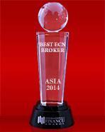 International Finance Magazine 2014 - The Best ECN Broker in Asia